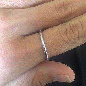 Pandora Sterling Silver Droplets Ring